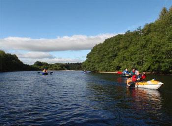 Canoeing the River Moriston (2)